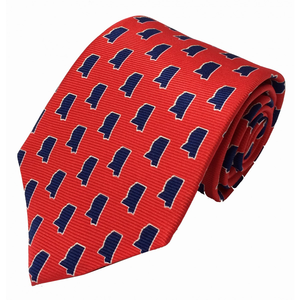 MS Gameday Red Tie